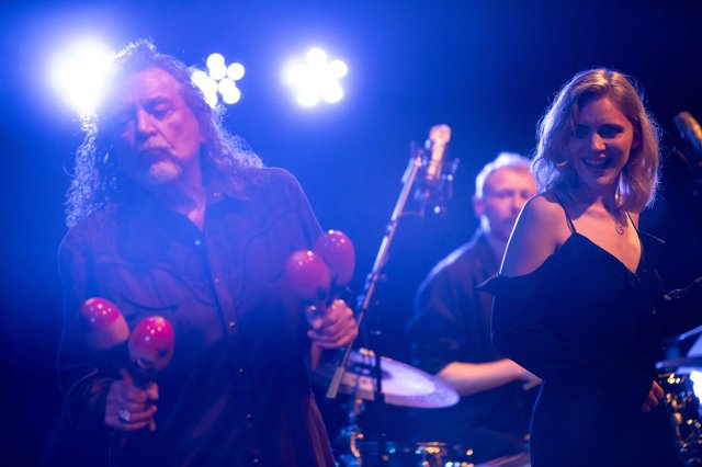 Saving Grace featuring t the vocal talents of Robert Plant & Suzi Dean healdine on Saturday at Underneath the Stars