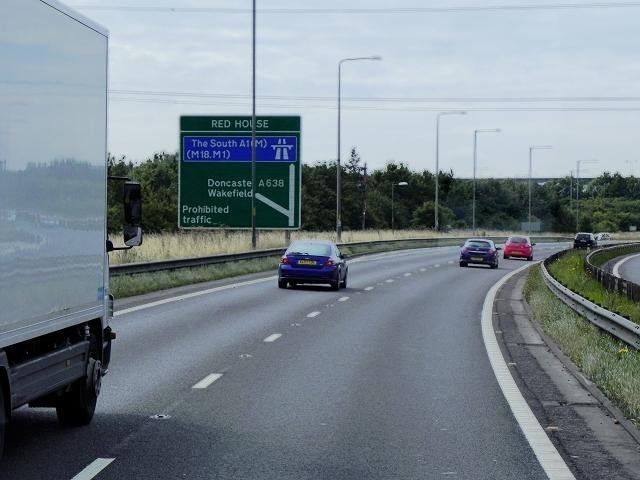 Be aware of a lane closure this morning