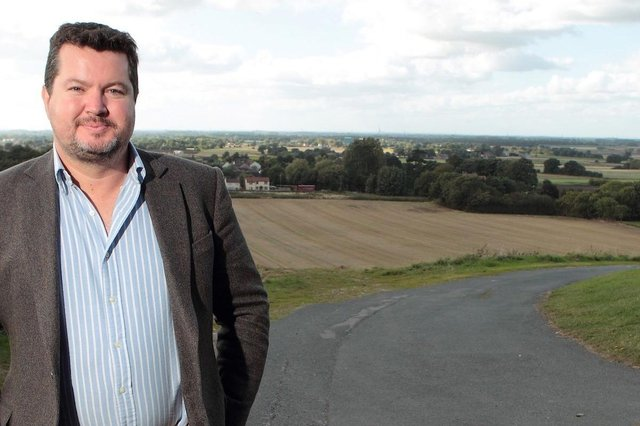 Steve Jagger's company, Quickline, is supplying Doncaster with gigafast broadband
