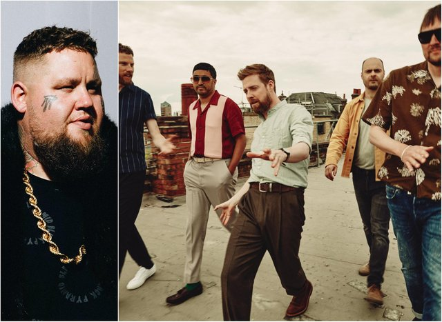Rag 'N' Bone Man and Kaiser Chiefs have both been forced to cancel shows at Doncaster Racecourse.