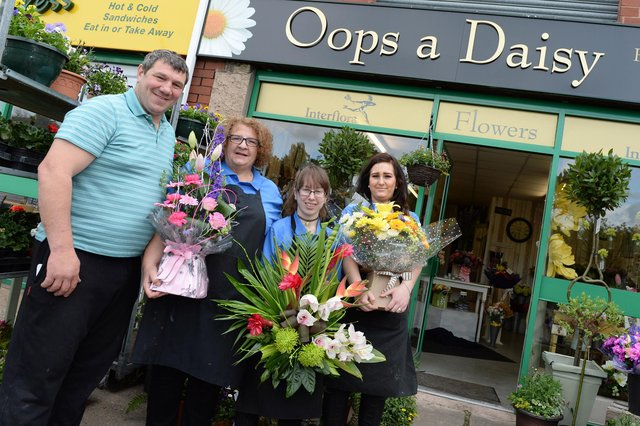 Who can you spot in these Doncaster florist pictures from over the years?