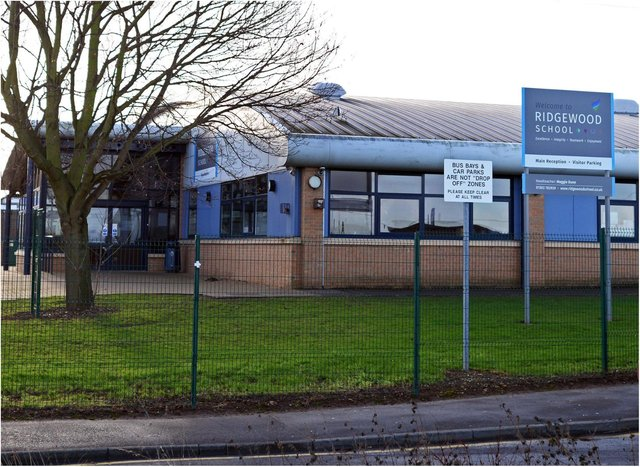Ridgewood School has been selected for part of the Government's £1 billion upgrade.