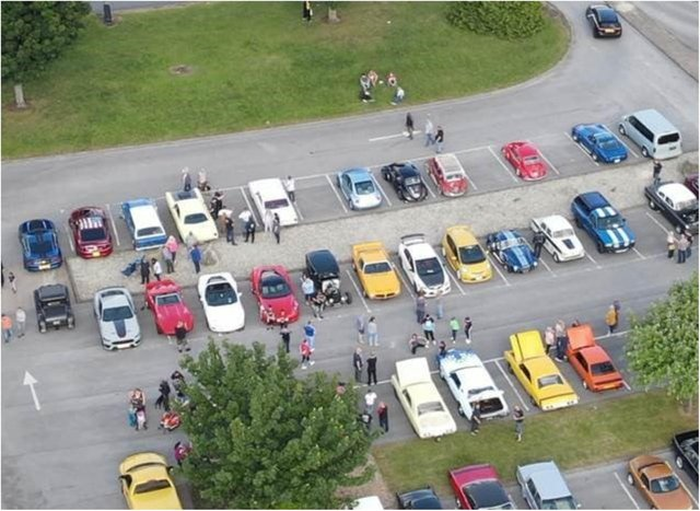 Car enthusiasts gathered at Lakeside over the weekend.