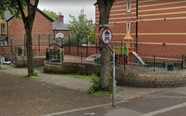 The playground on Vaughan Avenue, Wheatley