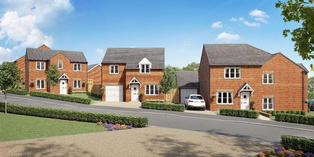 Artist impressions of the proposed homes set to be built in Askern