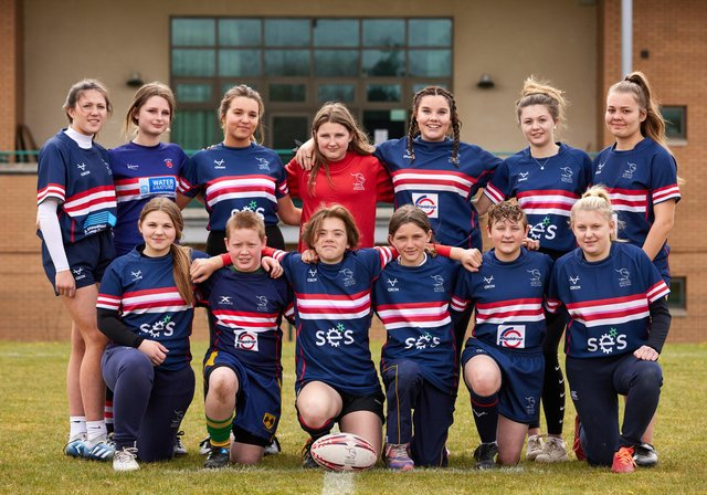 Doncaster Knights Mini Juniors. Picture: Shaun Flannery/shaunflanneryphotography.com