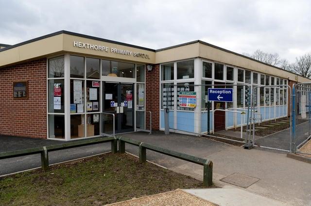 Hexthorpe Primary School , Urban Road, Doncaster