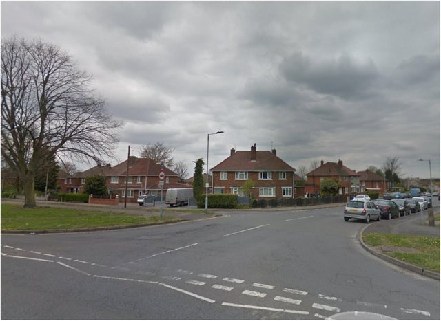 Police were called to a house in Thorne Road after shots were fired.
