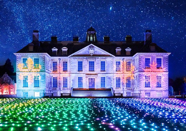 Christmas at Belton - a magical illuminated trail - in the grounds of the National Trust's Belton House, near Grantham, November 27, 2020 to January , 2021