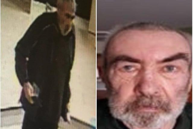 Missing man Godfrey Bignall.