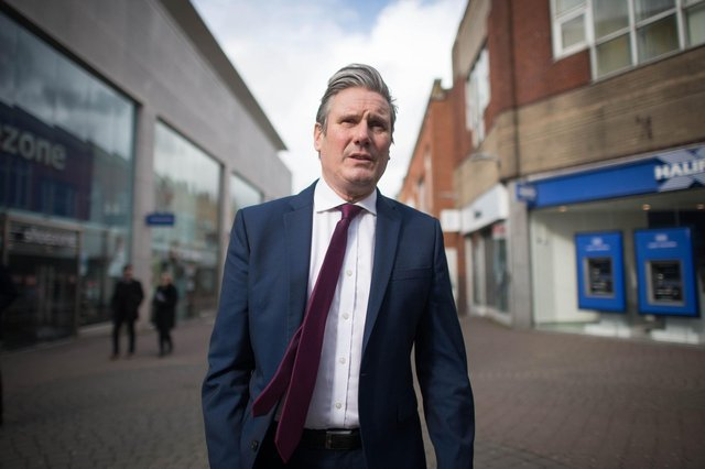 Sir Keir Starmer, leader of the Labour Party