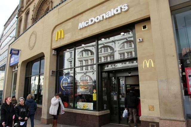 McDonald's has revealed which of its 15 UK restaurants will reopen for delivery only.