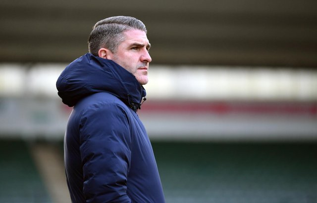 Plymouth boss Ryan Lowe