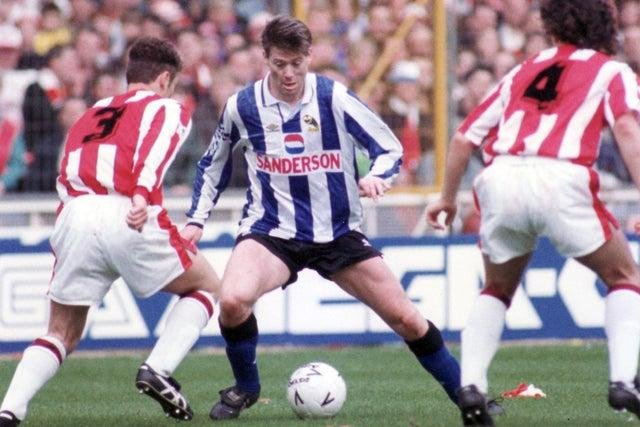 Chris Waddle has signed up for the Legends match.