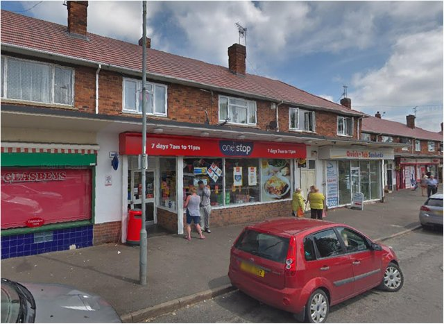 The One Stop shop in Everingham Road, Cantley.