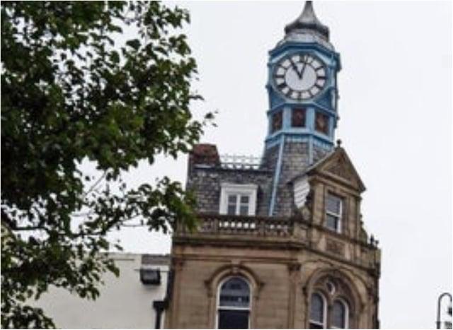 Clock Corner in Doncaster.