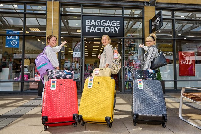 Need a new suitcase? Look no further