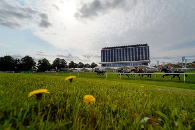 Action at Doncaster. Photo: Alan Crowhurst/Getty Images