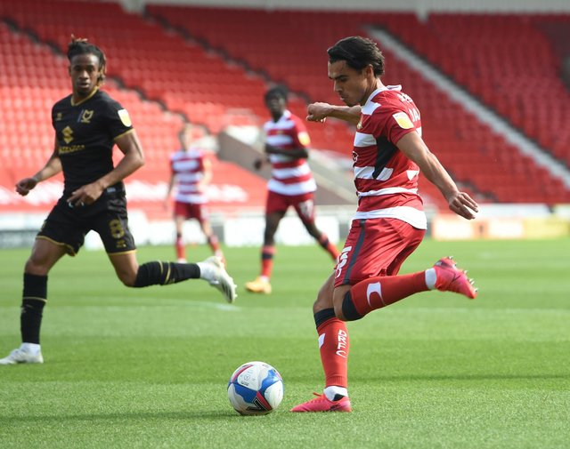 Reece James in action against MK Dons on the opening day of the season