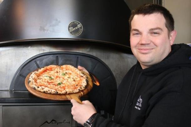 Lee Ogden - owner of The Rustic Pizza Co.