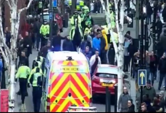 Police CCTV footage has been released of Doncaster on a match day when Rovers played Oldham Athletic