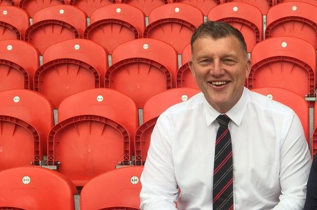 Doncaster Rovers chief executive Gavin Baldwin