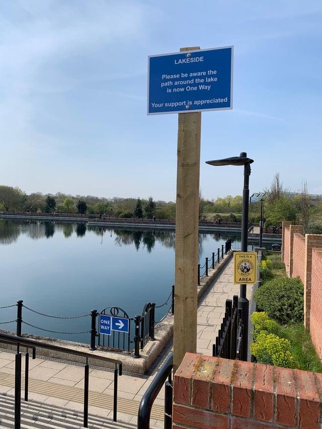 Unsafe activity around Lakeside