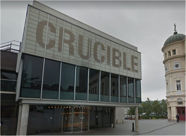 Sheffield's Crucible Theatre.