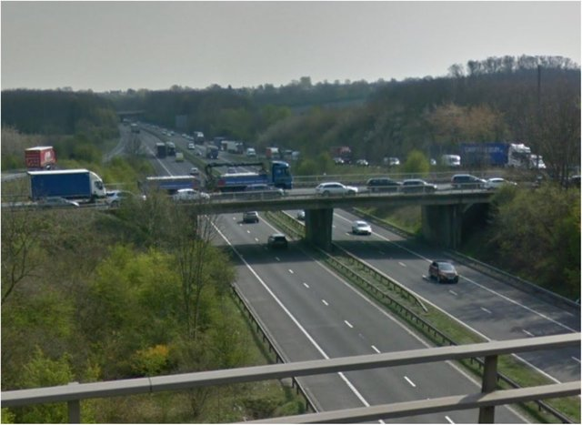 The A1(M) was closed in both directions between Wadworth and Blyth.