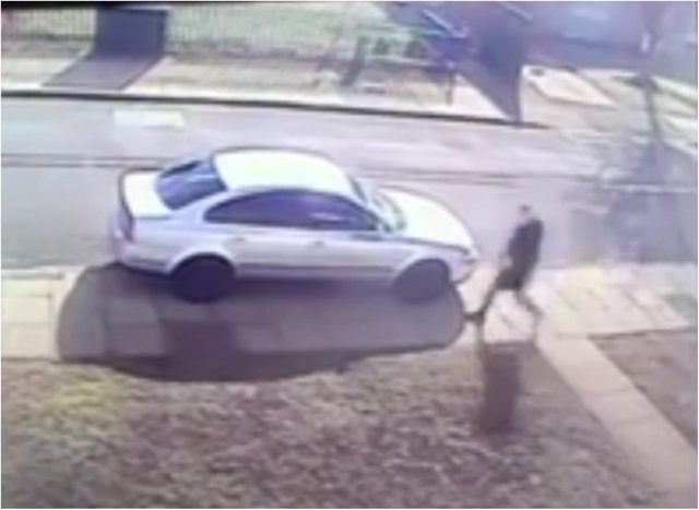 Police have issued CCTV footage of the man wanted in connection with a burglary in Silver Jubilee Close.