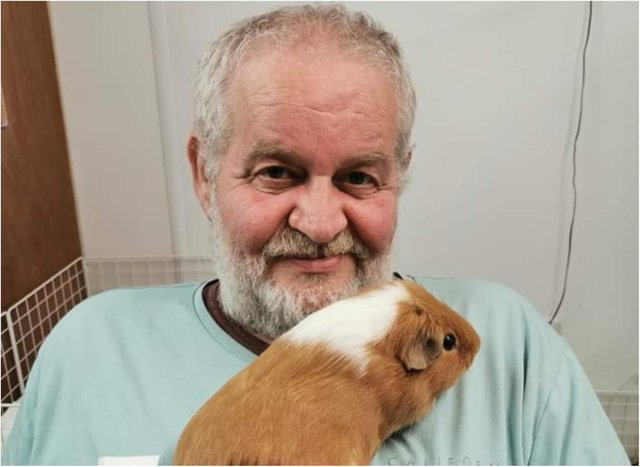Winston Tate founded Cavy Corner with wife Sue.