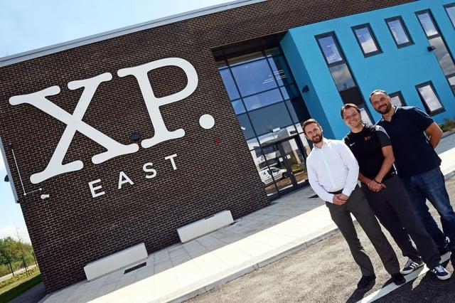Jamie Portman, XP East Headteacher, Andy Sprakes, Executive Principal and Gywn ap Harri, CEO XP School Trust, pictured.