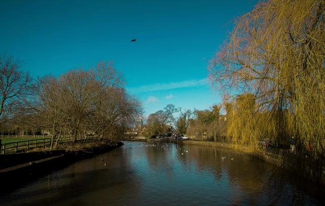 Tickhill mill pond by Ken Pointon