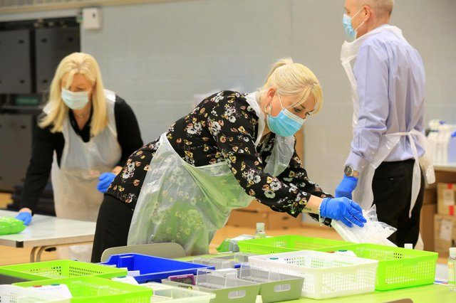 Every part of South Yorkshire is in the top 100 areas nationally for Covid infection rates