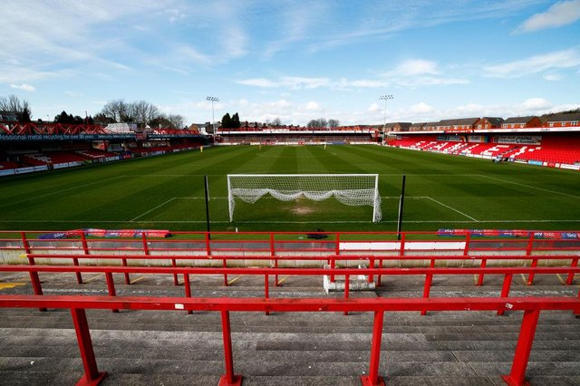 The Wham Stadium, home to Accrington Stanley. Photo: Clive Brunskill/Getty Images