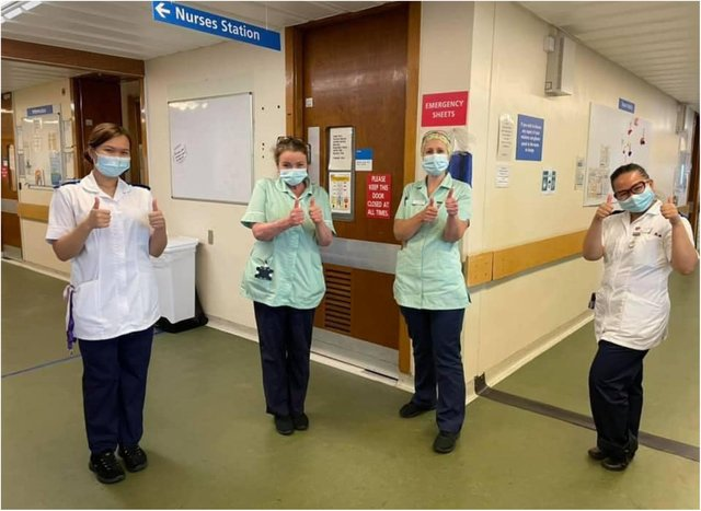 The number of Covid patients in DRI's respiratory unit has dropped to zero.