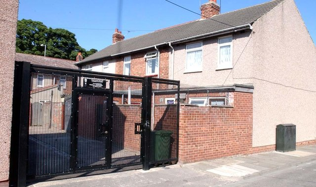 Alley gates such as these will be installed in Hexthorpe