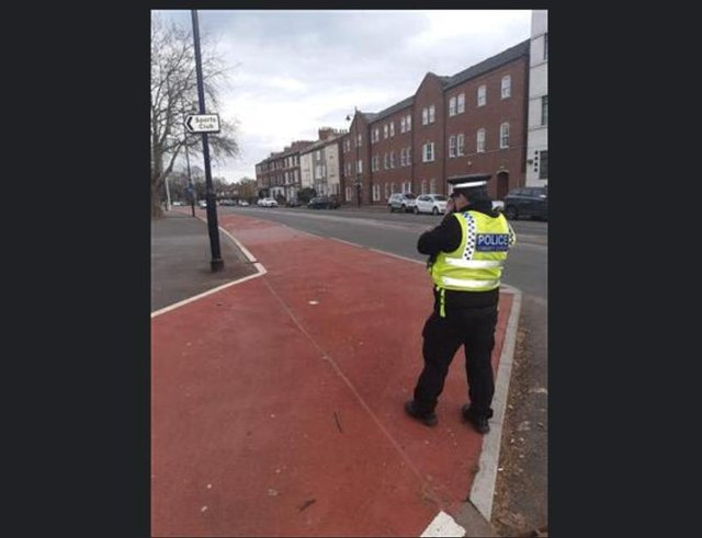 Police carried out a speeding operation at Bennetthorpe