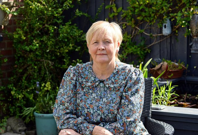 Christine Barker is convinced her Covid jab caused her paralysis - but still wants others to get the jab.