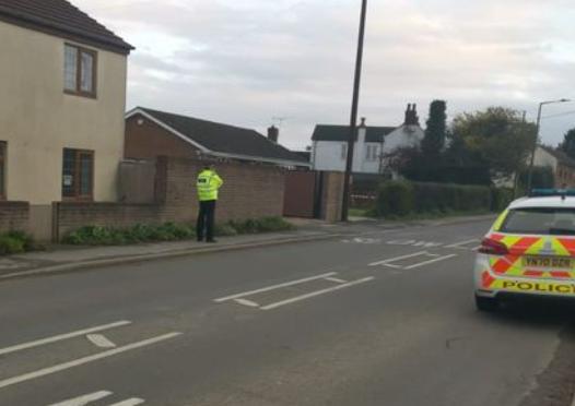 Police speeding operation in Hatfield Woodhouse