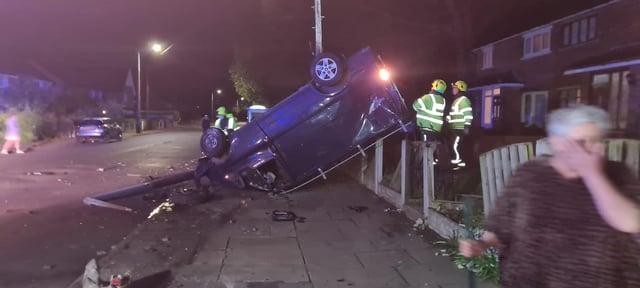The crash on Everingham Road, last night