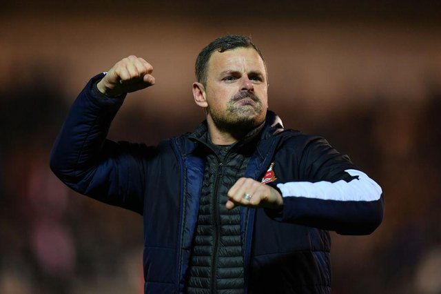 Richie Wellens won the League Two title with Swindon Town last season