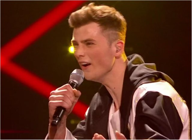 Bailey Lindsay appeared on I Can See Your Voice. (Photo: BBC).