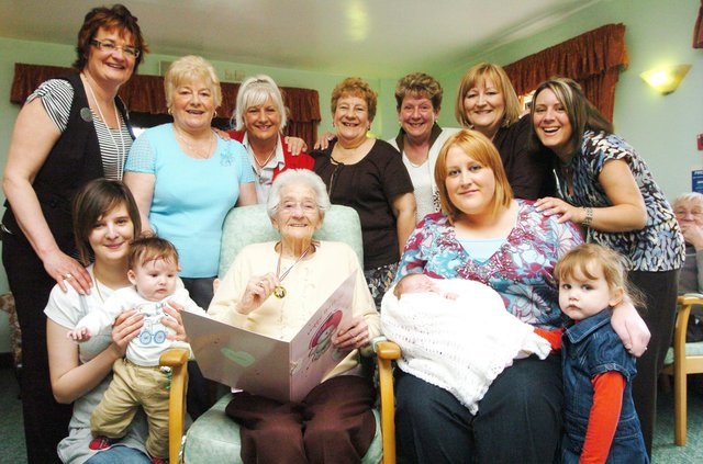 Who can you spot in this round up of Doncaster grandparents