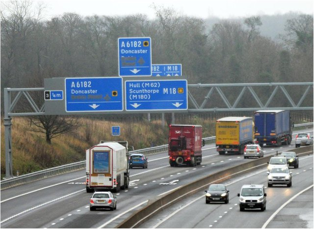 The M18 will be subject to a number of closures this week.