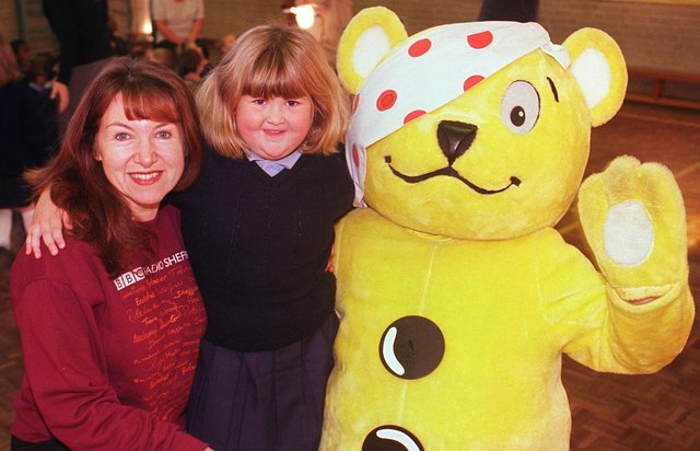 Who can you spot in these Pudsey fundraisers from yesteryear?