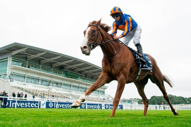 Ryan Moore aboard Love. Photo by EDWARD WHITAKER/POOL/AFP via Getty Images