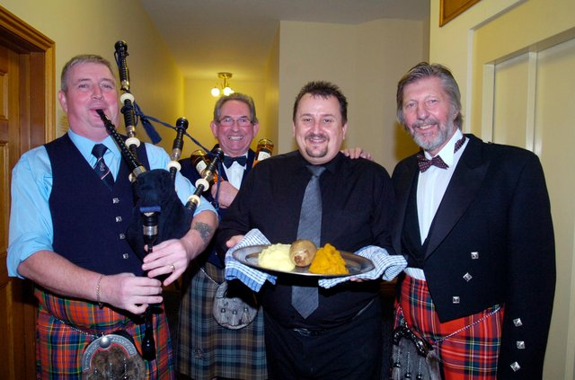 Who can you spot in these Burns Nights pictures?