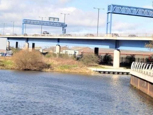 The man fell from St George's Bridge.