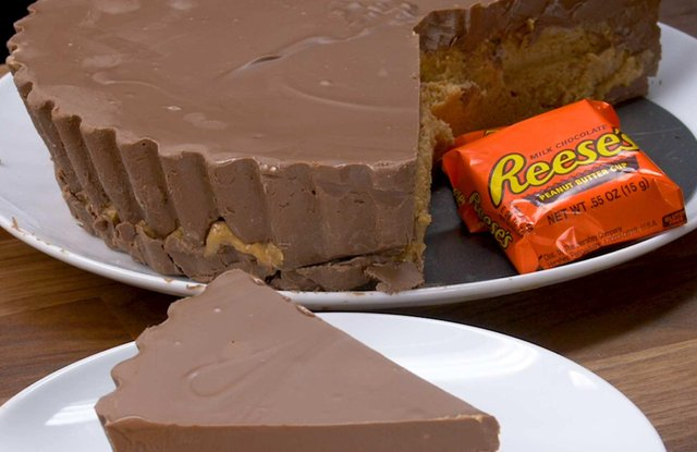 The giant Reese's Peanut Butter Cup. Picture: B&M.